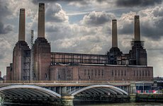 Battersea Power Station Chimneys face Destruction in Redevelopment.