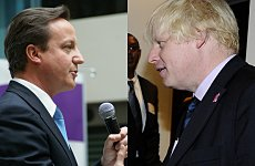 David Cameron and Boris Johnson Sell London to Twitter.
