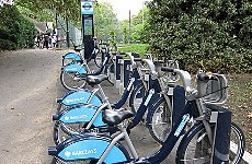 Blue Bike Hire to Reach the Suburbs, says Boris Johnson.