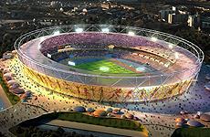 Tottenham v. West Ham at the Olympics.