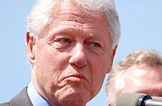 Bill Clinton Plans Trip to the Elephant and Castle.