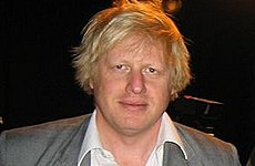 Boris Johnson Wins Best Celebrity Hair Cut Vote.