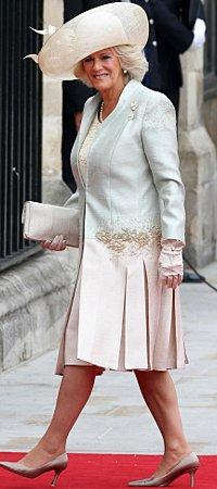 Camilla, Duchess of Cornwall, gets a tattoo.