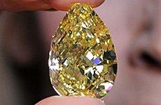 Sun-Drop Diamond Shines Rare Light on the Natural History Museum