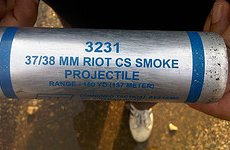 CS Gas Grenades, Water Cannon and Plastic Bullets Get Thumbs Up in Met Report.