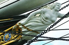 Cutty Sark, Now Ten Foot Taller, Re-Opened by the Queen.