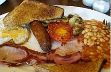 Is it the end of the traditional English breakfast?