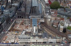 New Aerial Photos Show London's Changing Stations.