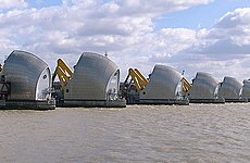 Floody Hell! Up Goes the Thames Barrier