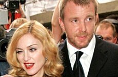Guy Ritchie and Madonna.
