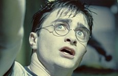 """JK Rowling handed French prize by Sarkozy. DANIEL RADCLIFFE as Harry Potter in Warner Bros. Pictures' fantasy """"Harry Potter and the Order of the Phoenix."""" Photo courtesy of Warner Bros. Pictures."""
