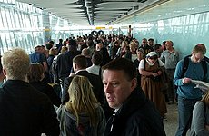 Heathrow Queues: Airlines and Government Argue Over Who Should Pay.