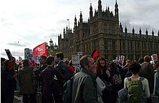 Save the NHS Campaign Takes Fight to Parliament