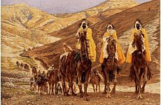 Christmas Pilgrims Take to the Roads.