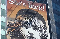 New Les Miserables Opens at Old Venue as 25th Birthday Party Begins.