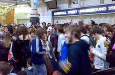 London Underground Faces Occupation by Flower-Power .