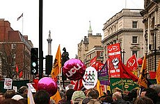 Union Leader Says 'Olympics Will Come into Play' for Anti-Cuts Campaign.