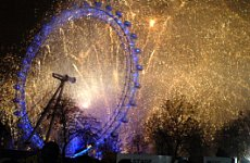 London Embraces New Year.