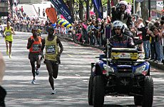 The London Marathon goes ahead as planned, says Sports Minister, as Boston count