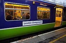 London Overground Named the Most Punctual Railway in Britain.