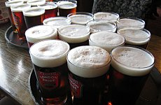 London Escapes Priciest Pint of Beer Tag.
