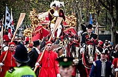 Lord Mayor's Show to Feature Japanese Drum Band and a Sherman Tank.