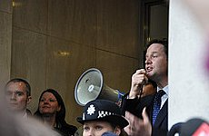 Nick Clegg: Students Don't Know What They Are Talking About
