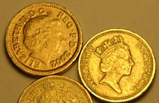 Fake Pound Coins on the Rise in London.