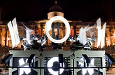 Octopus Extends its Tentacles Over Trafalgar Square