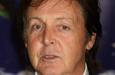 Paul McCartney Rescues Boozy BRITS