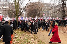 Huge March Planned as World Leaders Meet in London
