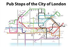 Pub Stops of the City of London.