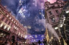 McFly 'Excited' at Regent Street Christmas Lights Debut. Crown Estate