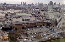 Gordon Brown Backs New British Film Centre on South Bank Carpark.