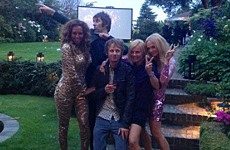 Liam Gallagher joins Spice Girls in post-Olympic all nighter.