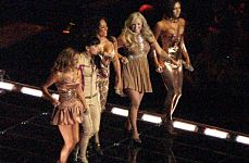 Spice Girls Tour Abandoned after Rows.