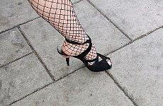 Feet Step Up to Power London Underground.