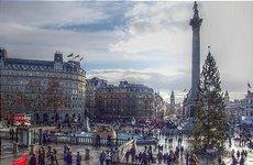 Trumpets to Greet Tonight's Trafalgar Square Christmas Tree-Lighting.