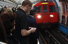 Olympic Boost for Mobile Phones on the Tube.