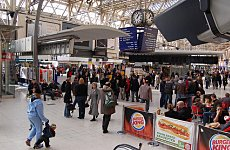 Waterloo Battles to 'Fit More People on Trains'.