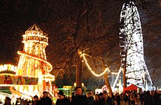 Hyde Park Welcomes Winter Wonderland.
