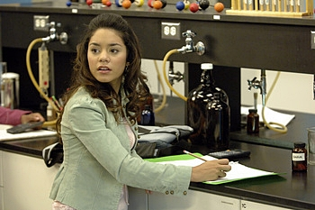 Vanessa Ann Hudgens in High School Musical. (DISNEY CHANNEL/FRED HAYES). ©2006 DISNEY CHANNEL. All Rights Reserved