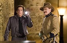 Robin Williams and Ben Stiller in Night At The Museum. Twentieth Century Fox