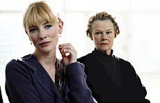 Cate Blanchett (Sheba) and Judi Dench (Barbara) in Notes On A Scandal. Fox UK Film