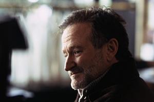 Robin Williams as Gabriel Noone in The Night Listener. Copyright Icon Film