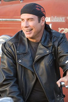 John Travolta in a scene from WILD HOGS, directed by Walt Becker. Photo credit: Lorey Sebastian. ©2006 TOUCHSTONE PICTURES. ALL RIGHTS RESERVED.