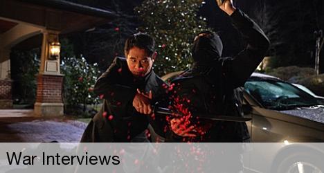 Rogue (JET LI) fighting in War. Lionsgate Films