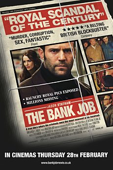 Portrait Poster. The Bank Job. Lionsgate Films