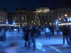 Somerset House Ice Rink. Photo Credit: dan taylor. C.C.License