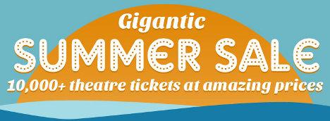 London Theatre Summer Sale